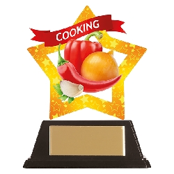 Mini-Star Cooking Acrylic Plaque