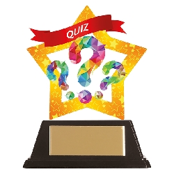 Mini-Star Quiz Acrylic Plaque