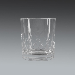 Whiskey Panelled Glass