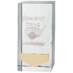 Inverness Golf Longest Drive Crystal Award