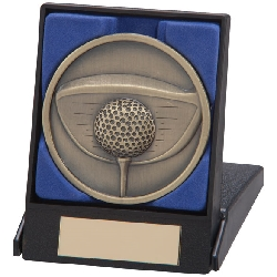 Links Series Golf Medal In Box