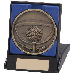 Links Series Longest Drive Medal & Box