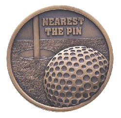 Links - Nearest The Pin Golf Medal