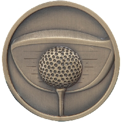 Links - Golf Driver Medal