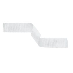 Medal Ribbon White 395x22mm