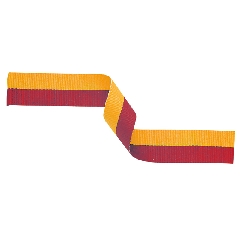 Medal Ribbon Red & Gold 395x22mm