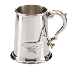 The Troon Golf English Pewter Tankard   1pt