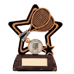 Little Star Tennis Plaque