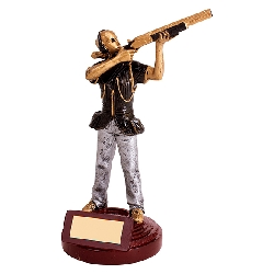 Motion Extreme Clay Pigeon Female Figure