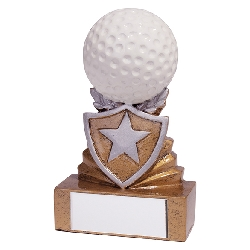 Shield Golf Mini Award