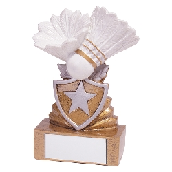 Shield Badminton Mini Award