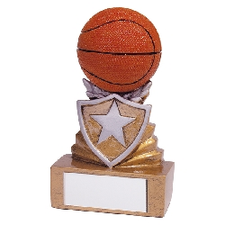 Shield Basketball Mini Award