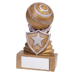 Shield Lawn Bowls Mini Award