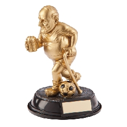 Outrageous Beer Belly Football Old Git Award