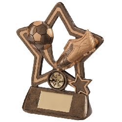 Puma Little Star Football Plaque