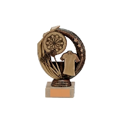 Renegade Darts Legend Award Antique Bronze & Gold