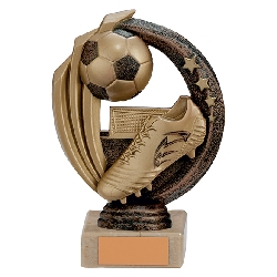 Renegade Football Legend Award Antique Bronze & Gold