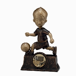 The Rising Star Plastic Football Trophy