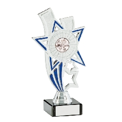 Apollo Silver & Blue Multi-Sport Trophy