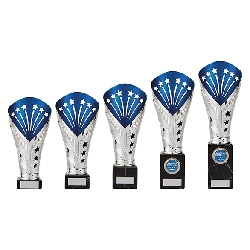 All Stars Legend Rapid Trophy Silver & Blue