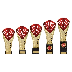 All Stars Legend Rapid Trophy Gold & Red