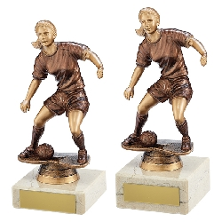 Swerve Football Female Trophy